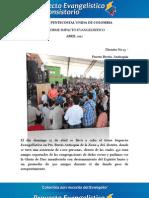 Informe Impacto Evangelístico - Pto. Berrio, Antioquia - Dto 15