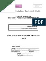Format Proposal Ketrampilan Satap 2012