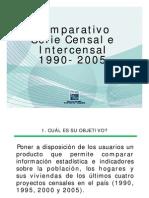 Series Censal e Intercensal 1990-2005