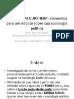 o Estado Em Durkheim