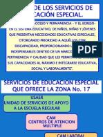 Servicos Educacion Especial