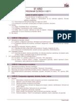 Química Programa