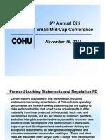 Cohu Investor Presentation