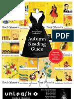 Unleash Books Autumn Reading Guide