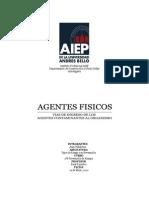 Agentes Ffisicos y Vias de Ingreso de Los Agentes Con Tam in Antes Al Organismo