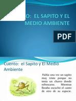 CUENTO-Sapito y El Medio Ambiente