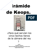 Español - Para qué servian los 5 techos de la Pirámide de Keops