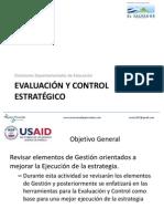 Evaluación y Control Estratégico