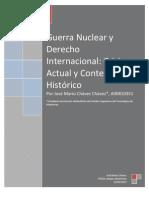 Guerra Nuclear & Derecho Internacional Borrador