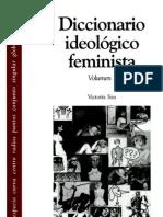 Diccionario ideológico feminista Vol.1