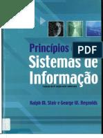 Capítulo 1 - Princípio de Sistema de Informação - Ralph M. Stair