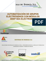 Automatizacion grupos electrogenos