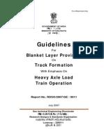 Ballast & Suballast Guidelines IR
