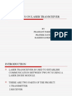 Presentation on Laser Transceiver