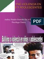 Violencia entre adolescentes