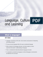 Language, Culture and Learning