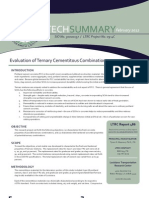 LTRC TS_486 Evaluation of Ternary Cementitious Combinations