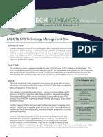 LTRC TS_489 LADOTD GPS Technology