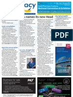 Pharmacy Daily for 3rd May 2012 - New TGA Head, HIV conversations, Code consultation, Reform and much more...