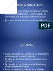 Dictamen Medico Legal