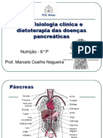 Patofisiologia clínica e dietoterapia das doenças pancreáticas