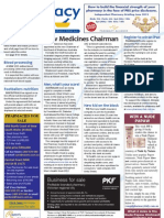 Medicines Chairman, Win an iPad, Men\'s Health and much more...