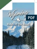 Wyoming Driver Manual 2007