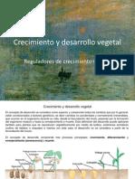 Crecimiento y Desarrollo Vegetal.reguladores de Crecimiento Vegetal