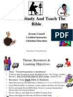 Effective Personal Bible Study