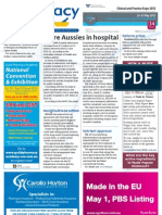 Australians in hospital, Votrient, Reform, Phebra and much more...