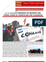 IX Marcha Indígena en Tijamuchì. CONAMAQ Nota 3