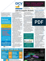 PD for Thu 26 Apr 2012 - Watson acquires Actavis, Nature\'s Own, CPExpo, Perinatal mental health and much more...