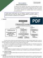 Analisis Dimensional I y II