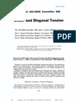 ACI Journal_Shear & Diagonal Tension