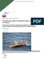 G1 - Pesqueiro que sumiu no tsunami do Japão reaparece no mar do Canadá - notícias em Mundo