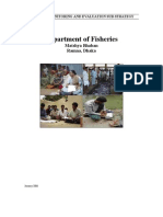 7.1 Fisheries Monitoring and Evaluation Sub-Strategy