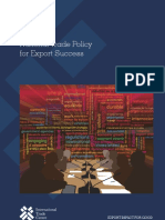 National Trade Policy for Export Success