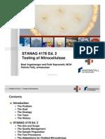 01 Vogelsanger Stanag 4178 Ed 2 the New Nato Standard for Nitrocellulose Testing