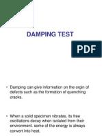 Damping Test