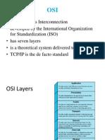 II Protocol Architecture OSI