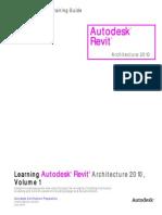 Learning Autodesk Revit Architecture 2010-ToC