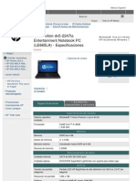 HP Pavilion Dv5 2247la(LE665LA)Espec