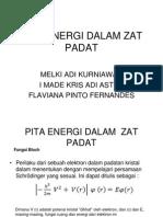 Pita Energi Dalam Zat Padat