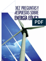 Diez Preguntas y Respuestas Sobre Energia Eolica