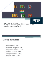 05. SAARC & SAFTA How It Can Be Made Sucessful