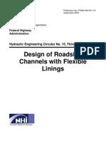 Design of Roadside Channels