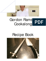 43709710 Gordon Ramsay Cookalong Recipe Book