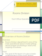 Room Division Management: Global distribution system