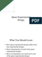 119 Fisk Quasi-experimental Design 2004