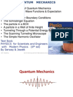 BE Phys 2010 11 Quantum Mechanics